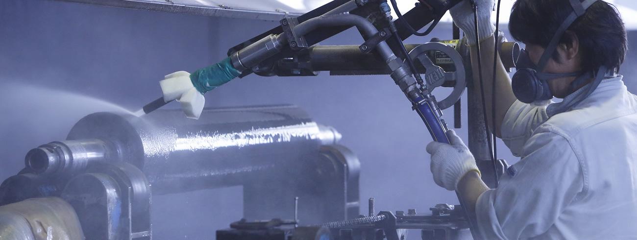 超音波洗浄&高圧洗浄イメージ