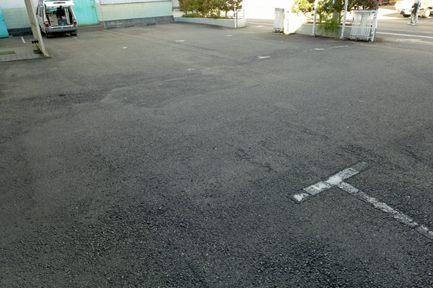 事務所前スペース
