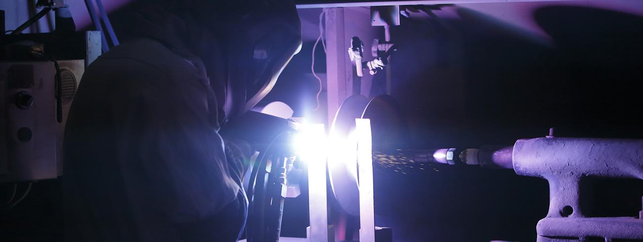 プラズマ溶射イメージ