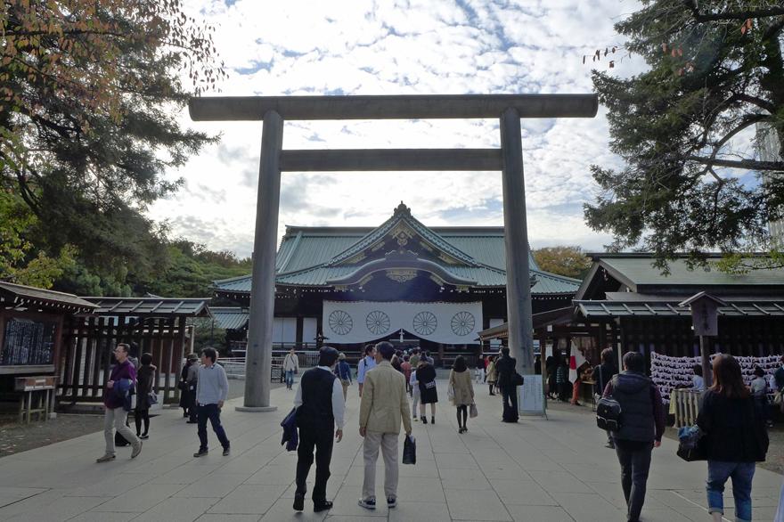 昼間の靖國神社