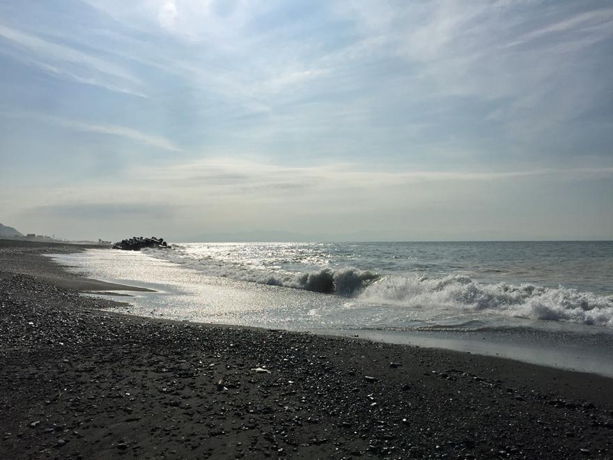静岡市の海岸