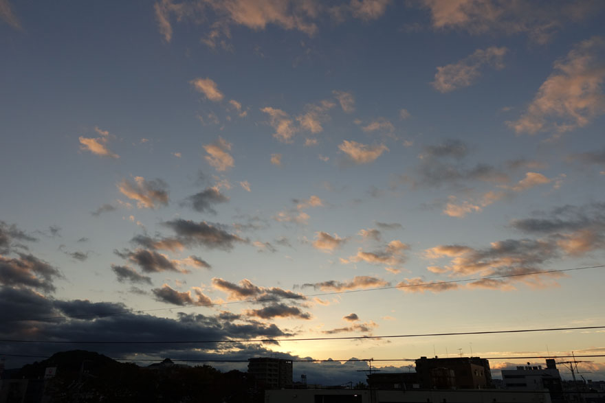 ある日の空模様