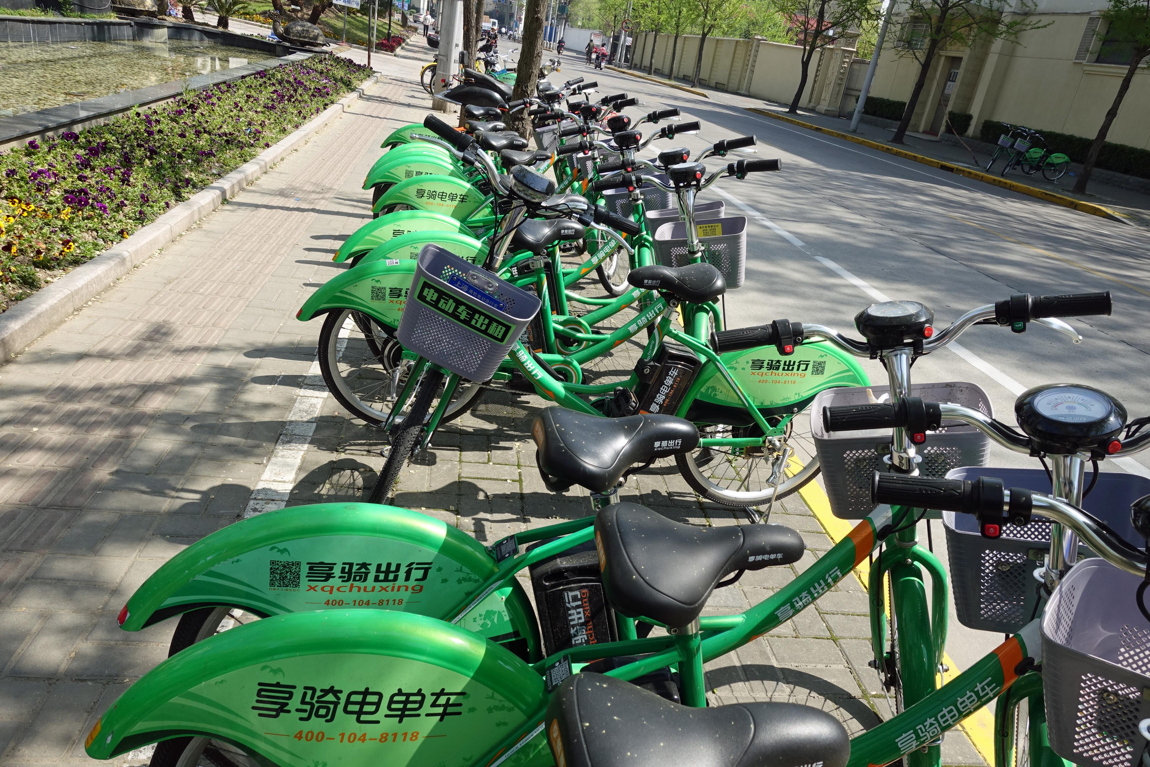 中国レンタサイクル